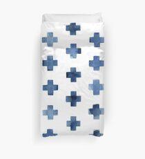 Skandinavisches Kreuz Muster Bettbezug