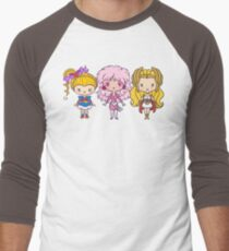 Lil' CutiEs - Eighties Ladies Men's Baseball ¾ T-Shirt