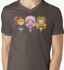 Lil' CutiEs - Eighties Ladies Men's V-Neck T-Shirt