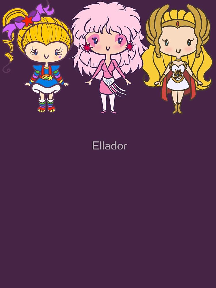 Lil 'CutiEs - Achtziger Damen von Ellador