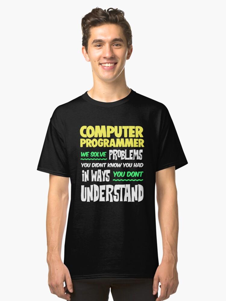 63bc3871 Funny Computer Shirt Nerd Programmer
