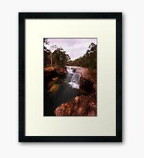eliot falls Framed Print
