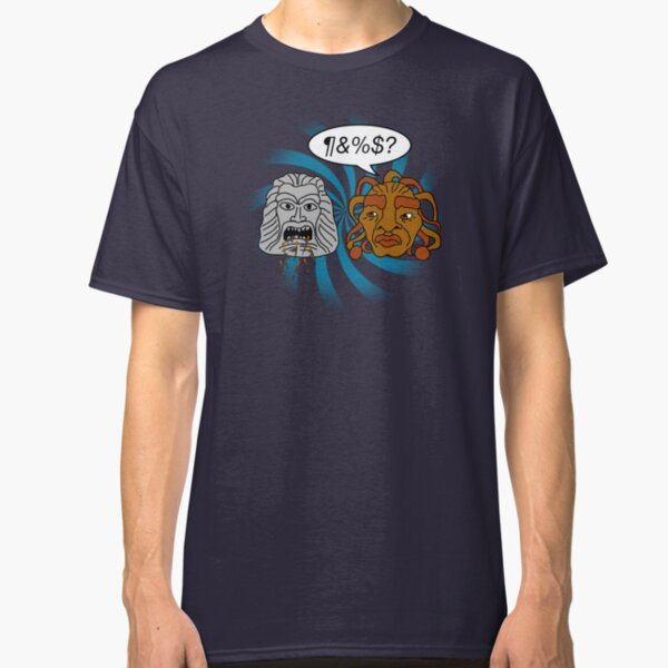 What did you eat?! (or When The Face of Boe met The Head of Zardoz) Classic T-Shirt