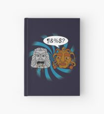 What did you eat?! (or When The Face of Boe met The Head of Zardoz) Hardcover Journal