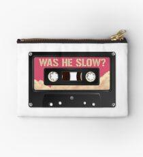 Was he slow? Studio Pouch