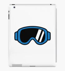 Ski goggles iPad Case/Skin