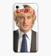 Owen Wilson Flower Crown iPhone Case/Skin