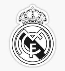 Real Madrid Coat of Arms Sticker