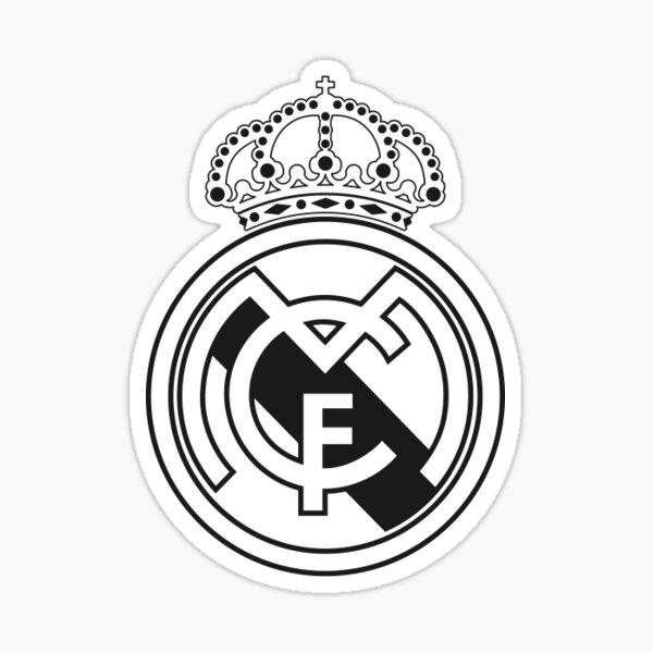 Escudo Real Madrid Pegatina