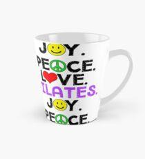 Peace Love Pilates Joy Tall Mug