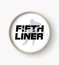 Fifth Liner Clock