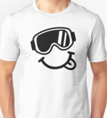 Ski smiley face T-Shirt