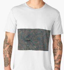 Surface texture intricate geometric pattern illustration Men's Premium T-Shirt