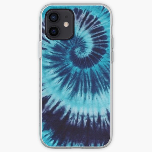 Blue Tie-Dye iPhone Soft Case
