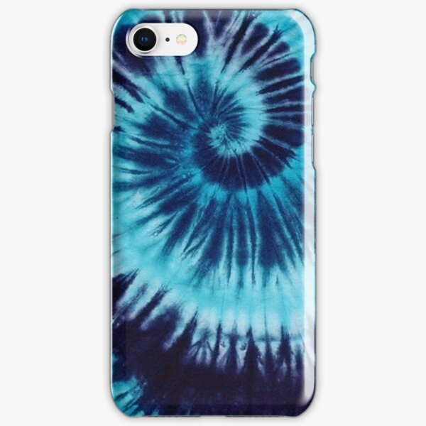 Blue Tie-Dye iPhone Snap Case