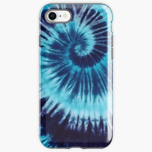 Blue Tie-Dye iPhone Tough Case