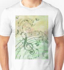 Music Notes Flutter 3 Unisex T-Shirt