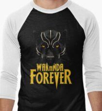 Wakanda Forever Men's Baseball ¾ T-Shirt