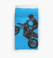 Dirt-Bike-Rennfahrer Bettbezug