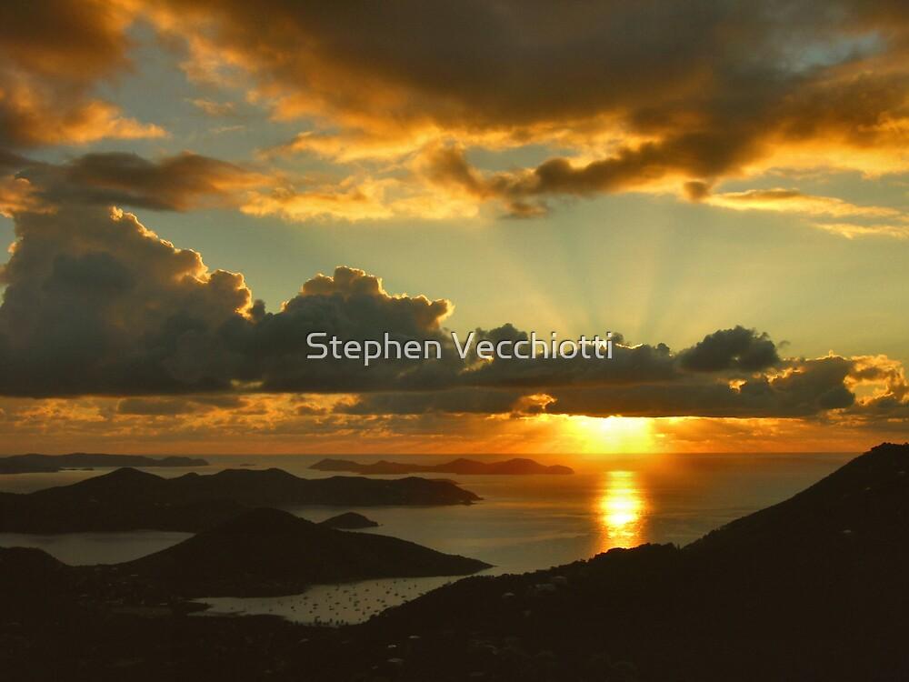 Bordeaux Mountain Sunrise by Stephen Vecchiotti