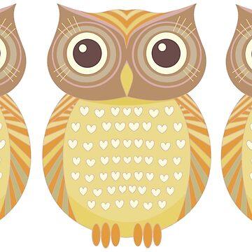 Three Owls by jgevans