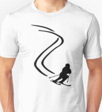 Downhill ski racing T-Shirt