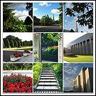 Der Preston-Tempel-Boden in der Hochsommer-Collage von BlueMoonRose