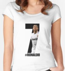 Cristiano Ronaldo Women's Fitted Scoop T-Shirt