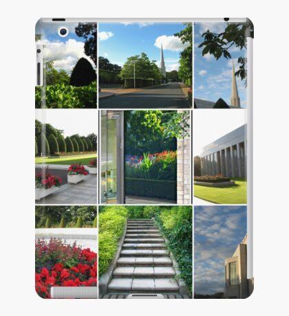 Der Preston-Tempel-Boden in der Hochsommer-Collage iPad-Hülle & Klebefolie