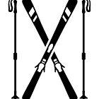 Crossed ski by Designzz