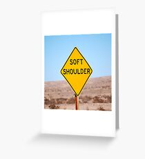 Shoulder to Cry On. Greeting Card
