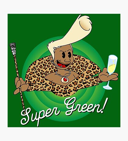Super Green! Photographic Print