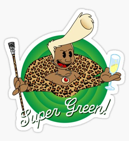 Super Green! Sticker