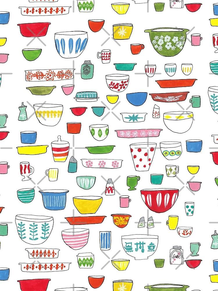 Vintage Dishware by jenbucheli