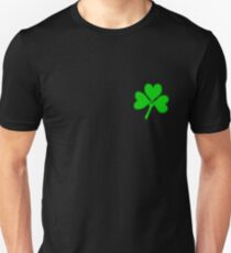 St Patricks Day Hearts Unisex T-Shirt