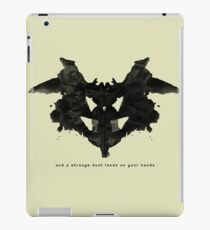 and a strange dust lands on your hands iPad Case/Skin