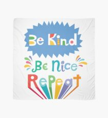 be kind be nice repeat Scarf