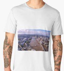 Brisbane from the sky Men's Premium T-Shirt