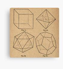 Crystal Geometrics Canvas Print