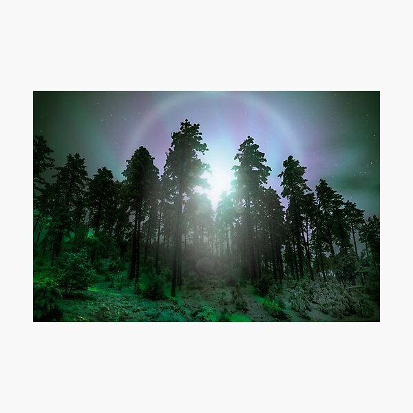 Nocturnal Rainbow Photographic Print
