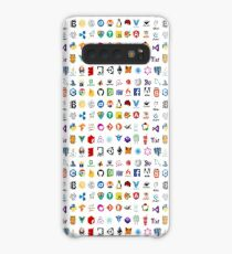 Developer icons, open source project logos, web companies Case/Skin for Samsung Galaxy
