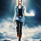 The Lady Cyborg  by barrettbiggers