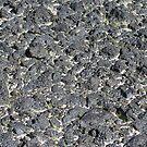 Desert pavement in lava by Chris Clarke