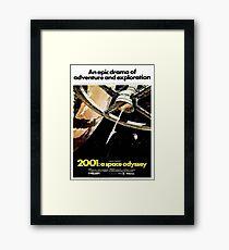2001 A Space Odyssey Framed Print