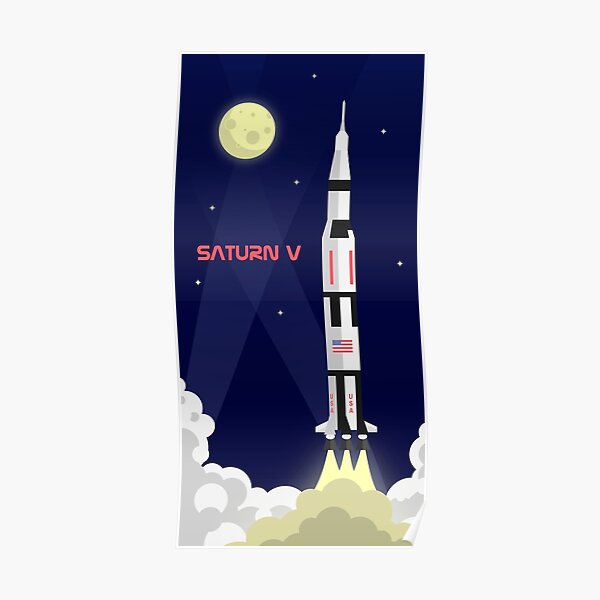 Saturn V - Poster Vertical Poster