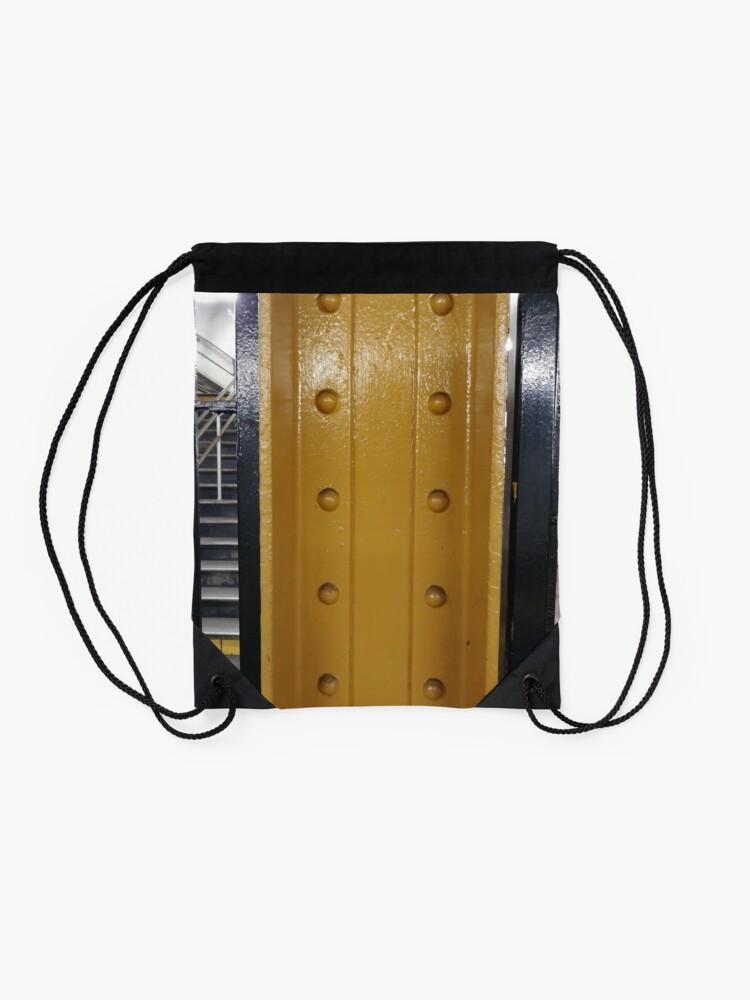 Alternate view of Pattern Drawstring Bag