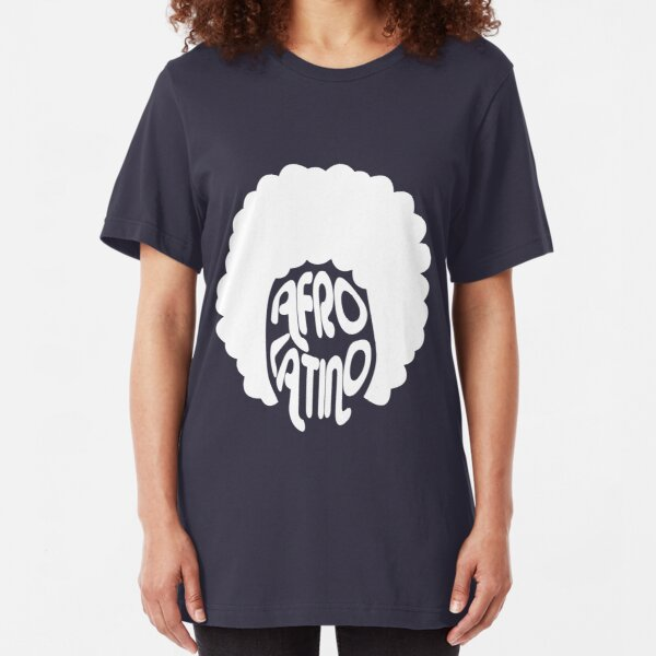 Afro Latino T Shirt Puerto Rico Boricua Afro Pick Taino African Latin Roots VI