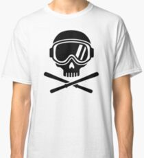 Skull crossed ski Classic T-Shirt