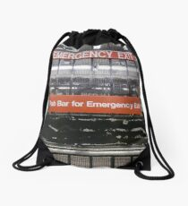 Emergency Exit Drawstring Bag