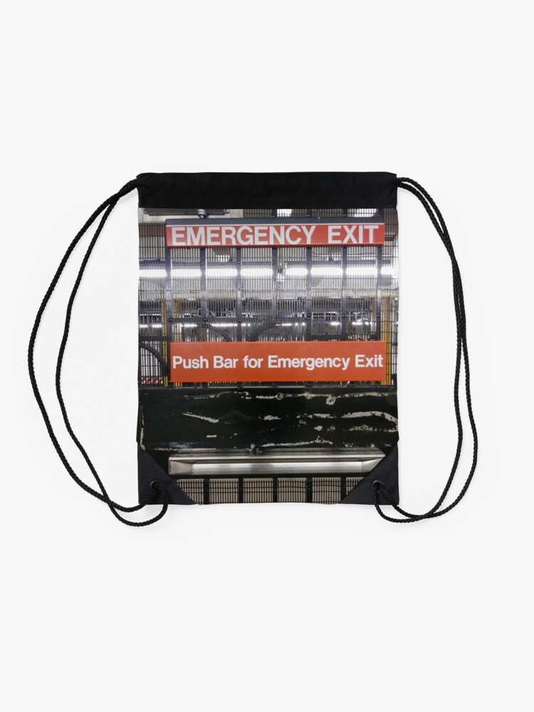 Alternate view of Emergency Exit Drawstring Bag